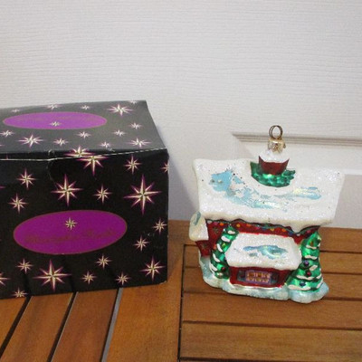 Christopher Radko Christmas Ornament - Christmas Cottage, Asst 2