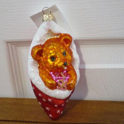 Christopher Radko Christmas Ornament - Cozykins
