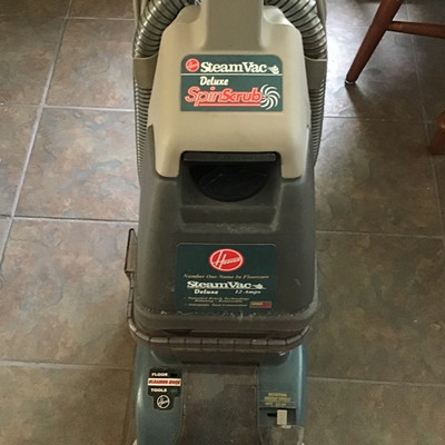HOOVER SPIN SCRUB DELUXE STEAM VAC