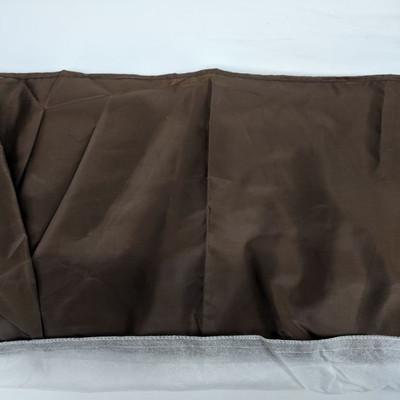 Brown Bedskirt, King