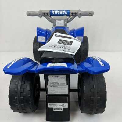 Yamaha Ride-On Toy, Blue 4-Wheeler by