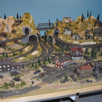 Amazing Marklin Train Set Depicting WWII Germany