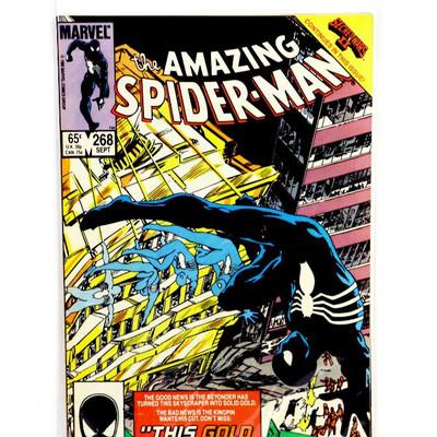 AMAZING SPIDER-MAN #267 #268 - Kingpin 1985 Marvel Comics VF