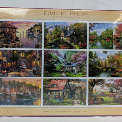 Dominic Davison Blooming Garden 1000 Puzzle - New