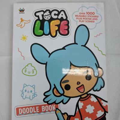 Toca Life Doodle Book - New