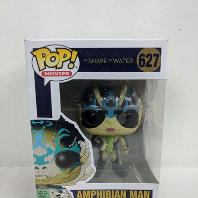 Funko Pop! The Shape of Water Amphibian Man 627 - New