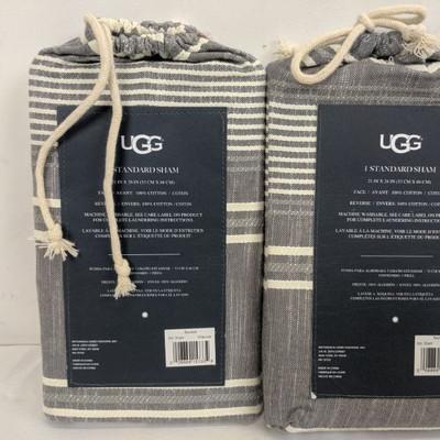 UGG Bayside Standard Sham, Qty 2 - New
