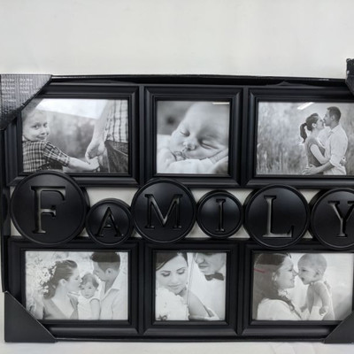 Family Frame, Black - New