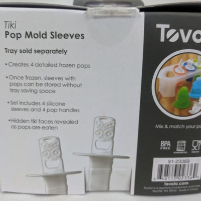 Tovolo Pop Mold Tray & Tovolo  Pop Mold Sleeves - New