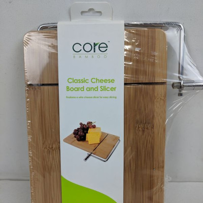 Core Classic Cheese Board & Slicer - New