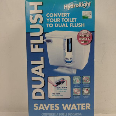 Hydroright Dual Flush - New