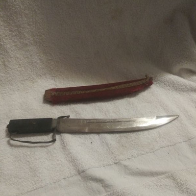 Nice Knife with wooden sheath