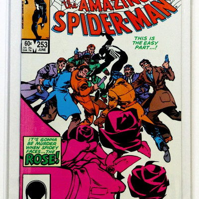 AMAZING SPIDER-MAN#253 Key Issue 1st Appearance of Rose 1984 Marvel Comics NM