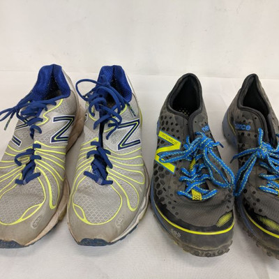 Two New Balance Shoes, Men's, Size 11