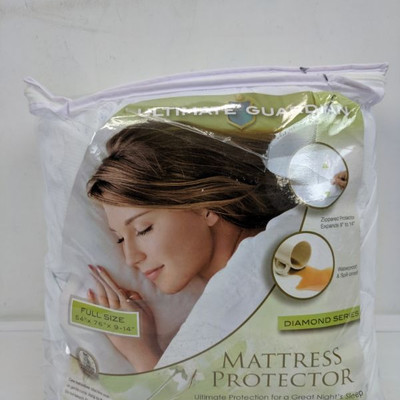 Ultimate Guardian Full Size Mattress Protector - New