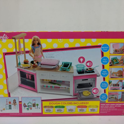 Barbie Ultimate Kitchen 20 Pieces - New