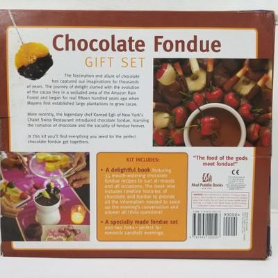 Chocolate Fondue Gift Set
