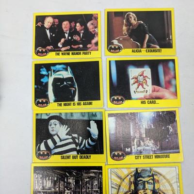 Batman Cards 1989 DC ~100