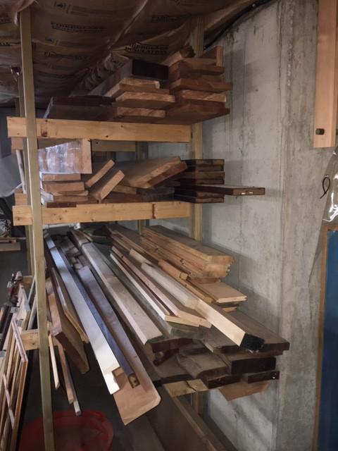 Assortment of Native Cherry Hardwood Lumber & 4 Boards of Ash 300-400 board feet