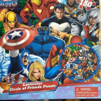 MARVEL HEROES PUZZLE