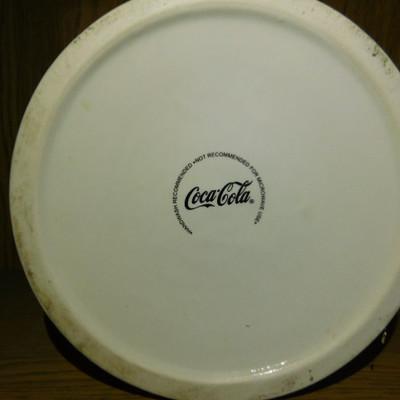 Ceramic Coca Cola Cookie Jar or Cannister