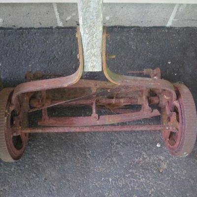 Vintage Push Mower and More