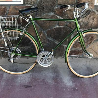 Vintage Schwinn Suburban Bicycle with Double Basket