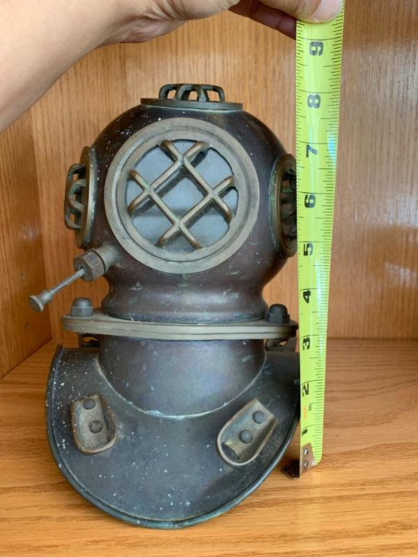 Copper / Brass Deep Sea Divers Helmet