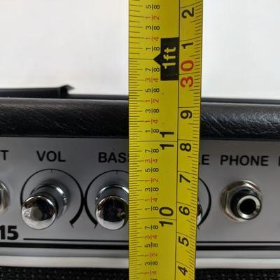 Fat Boy FBGB 15 Bass Amplifier - 15W, 6.5