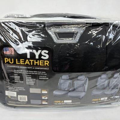 BDK PU Leather Seat Covers for SUV & Trucks - Minor Damage (Scratched, not cut)