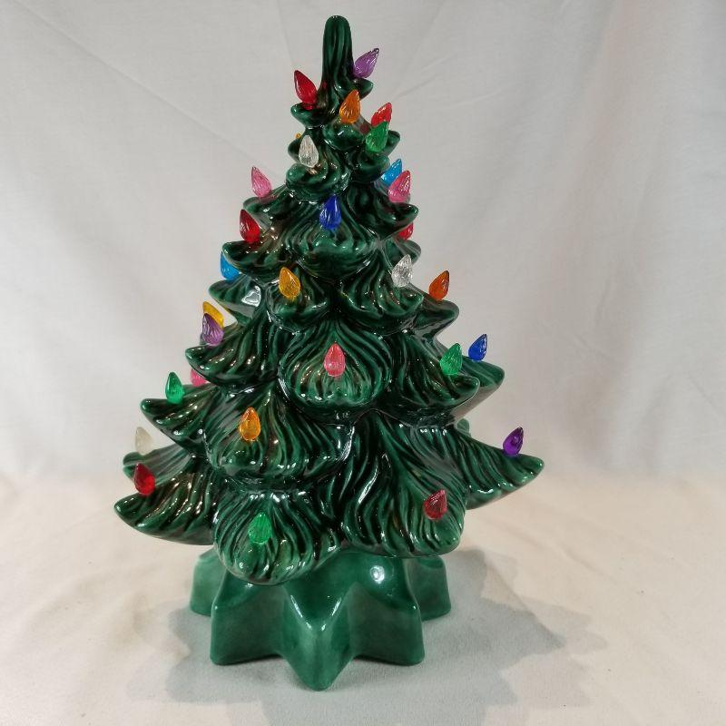 Vintage Ceramic Christmas Tree Estatesales Org