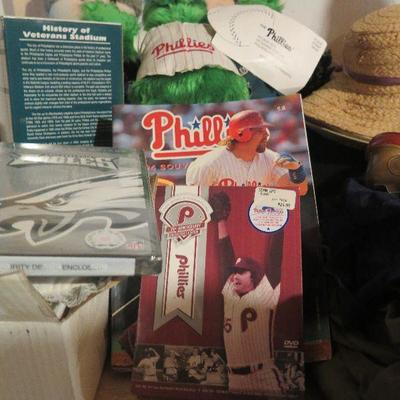 Phillies and Eagles