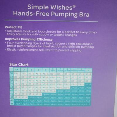 Lansinoh Simple Wishes Hands-Free Pumping Bra - New