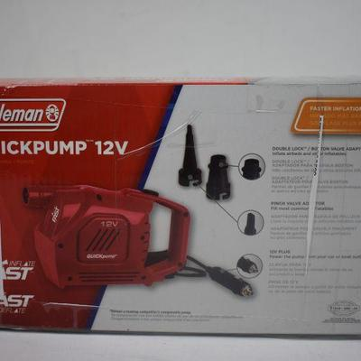 Coleman Quickpump 12V - New
