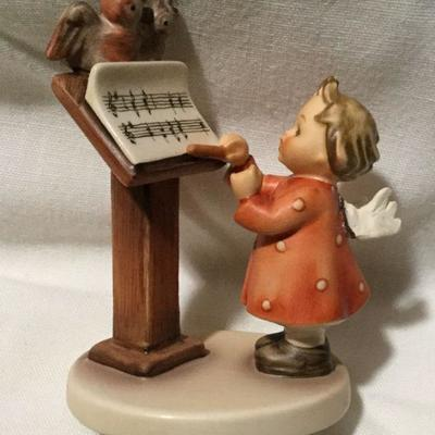 M J Hummel Goebel Figurine Bird Duet Western Germany 169
