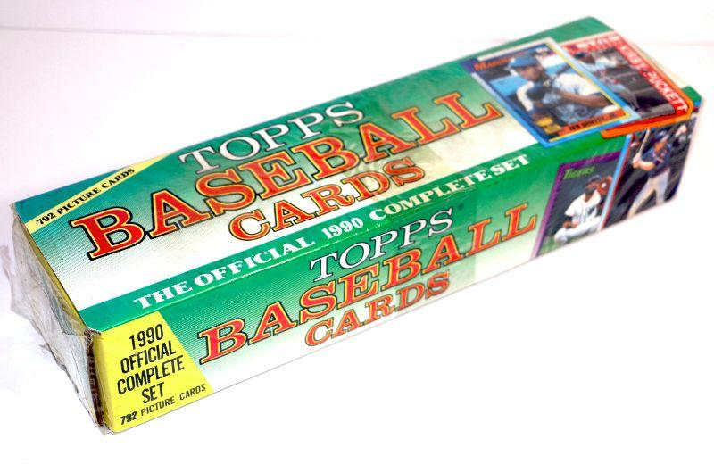 1990 Topps Baseball Cards The Official Complete Set Factory Sealed Box Estatesalesorg