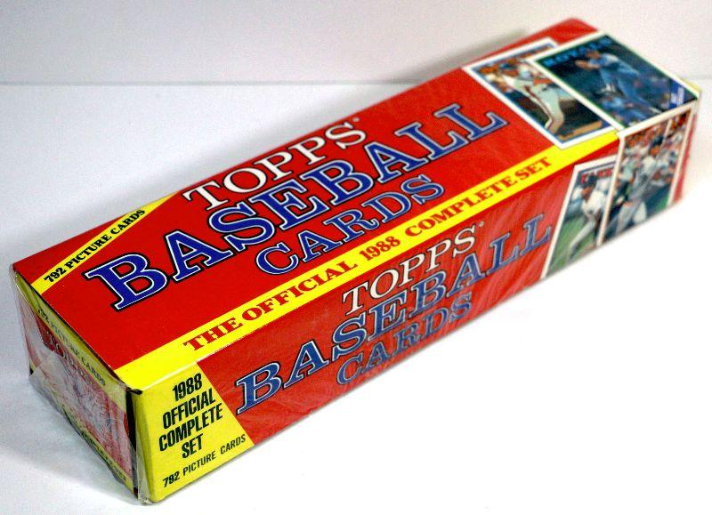 1988 Topps Baseball Cards The Official Complete Set Factory Sealed Box Estatesalesorg