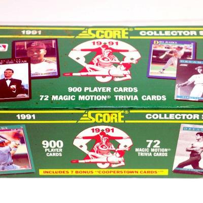 1988 Score Baseball Cards Collector Set Factory Complete Box