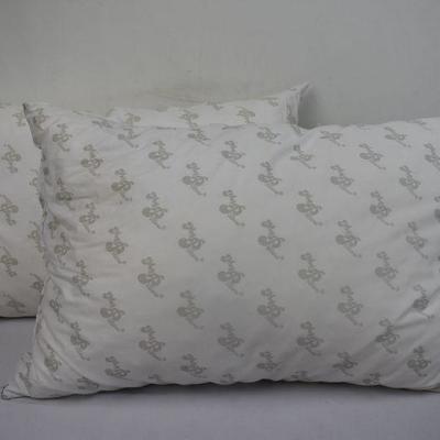 2 My Pillow, Standard - Warehouse Dirt