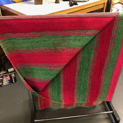 Lot #03 MEXICAN Wool Blanket