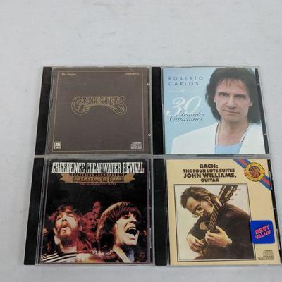 4 CDs: Carpenter - Bach: John Williams Guitar
