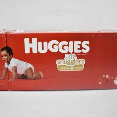 Huggies Little Snugglers, Size 3, 156 Count - New