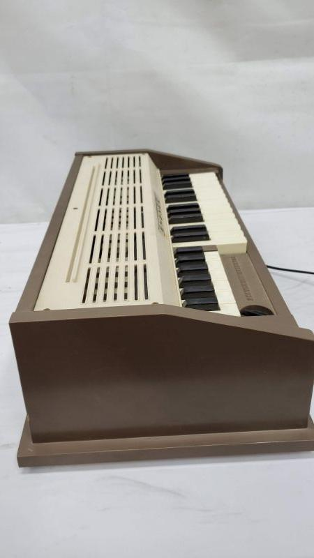 Mid Century Emenee Organ Keyboard, Vintage, 1960's, Air Cooling Works