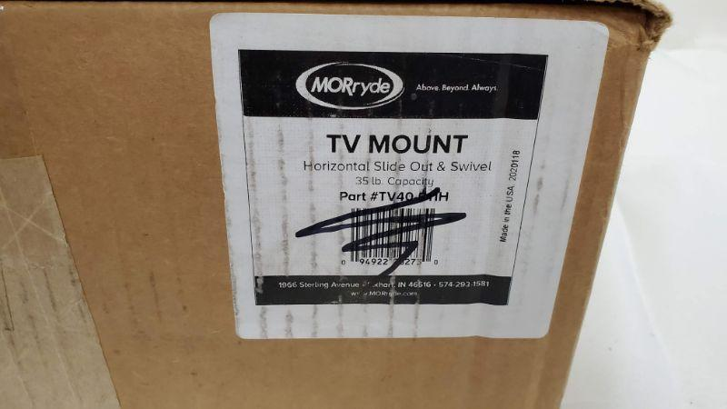 MORryde TV40-011H Horizontal Sliding TV Mount, Open Box - New