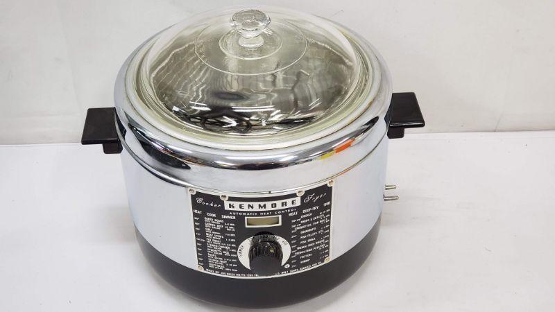 Vintage Kenmore Deep Fryer, Little Use, Model 309-69320