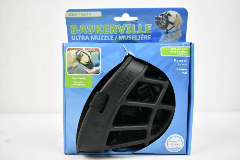 Baskerville Ultra Muzzle Size 5 - New