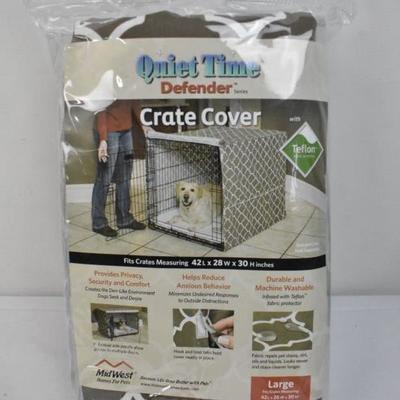 Quiet Time Crate Cover Large - New