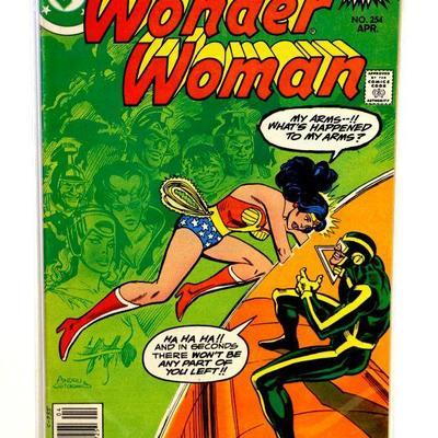 WONDER WOMAN #254 Bronze Age Comic Book DC Comics 1979