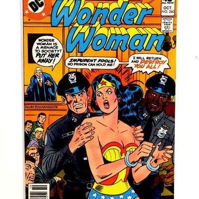 WONDER WOMAN #260 Bronze Age Comic Book DC Comics 1979