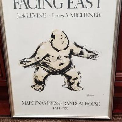 1970 Facing East poster by J Levine